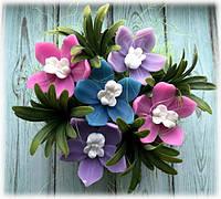 """Набор мыла """"Корзинка с орхидеями"""", фото 1"""