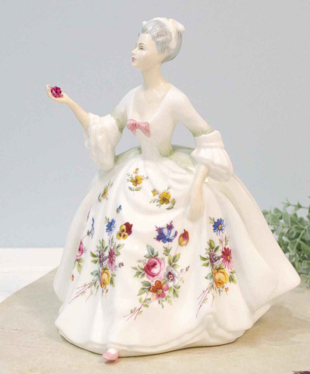 "Фарфоровая статуэтка ""DIANA"" от ""Royal Doulton"", фарфор, Англия, 1985 год"