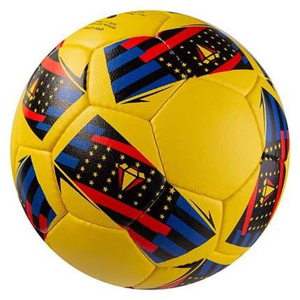 Мяч футбольный Grippy G-14 MU 2, желто/синий, фото 2