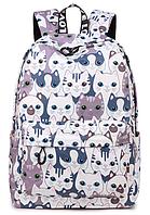 Рюкзак молодежный  цветные коты, фото 1