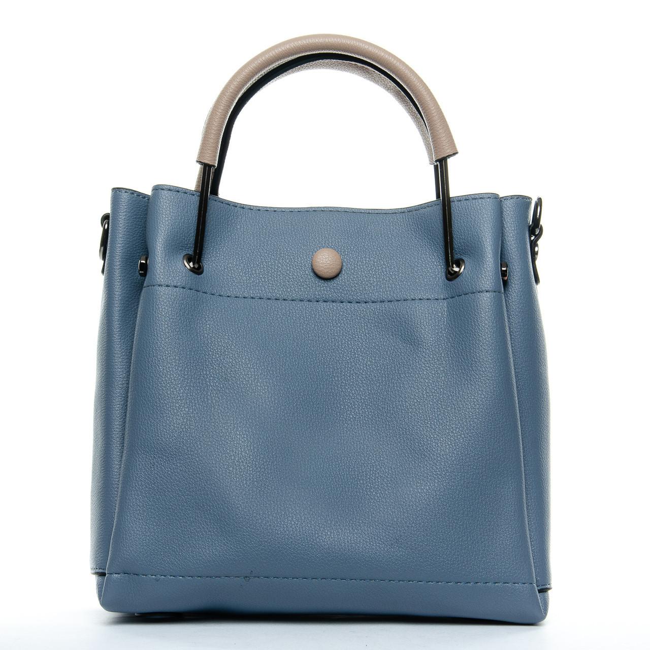 Сумка Женская Классическая иск-кожа 1-01 1053 blue