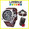Тактические мужские часы AMST + Кошелек Baellerry Leather  в Подарок! - Фото