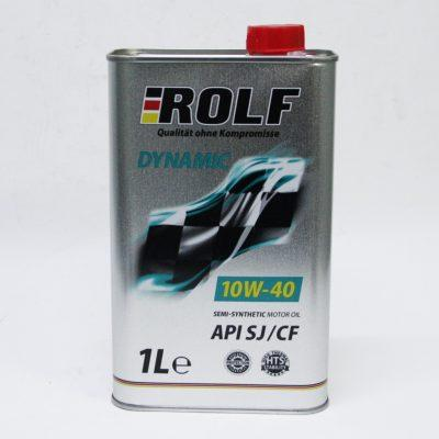 Масло ДВС 10W-40 ROLF Dynamic SJ/CF,   1л, п/синт