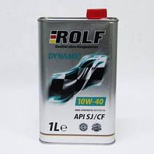 Масло ДВС 10W-40 ROLF Dynamic SJ/CF, 1л, п/сінт