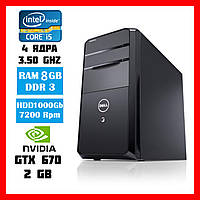 Комп'ютер DELL VOSTRO 470 /Intel Core i5 3450 3,5Ghz /RAM 8GB/HDD 1Tb/ NVIDIA GeForce GTX 670 - 2Gb