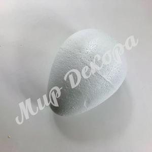 Яйцо пенопластовое, белое, 9 см