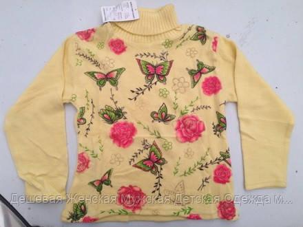 Детский свитер  6-10 лет