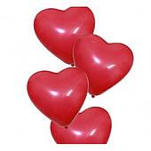 """Шар 16см/6"""" (Сердце пастель красный) CR6/42 №57421 (01317)"""
