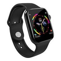 Умные часы Smart Watch W4 сенсорные черные (GS00W4B)