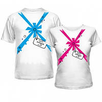 Парные футболки Подарок