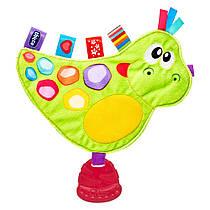 Мягкая игрушка-прорезыватель Динозаврик Дино Chicco 65141