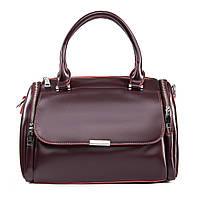 Сумка Женская Классическая кожа ALEX RAI 09-2 2231 burgundy, фото 1