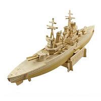 3D Деревянный конструктор. Модель корабль Принц Уэльский, 3D Дерев'яний конструктор. Модель корабель Принц Уельський