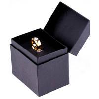 Чашка с золотым кольцом Белая ( Подарок на 14 февраля )