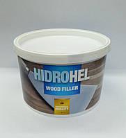 Акриловая шпатлевка ДУБ (дерево, МДФ) HIDROHEL Wood Filler 0.75 кг