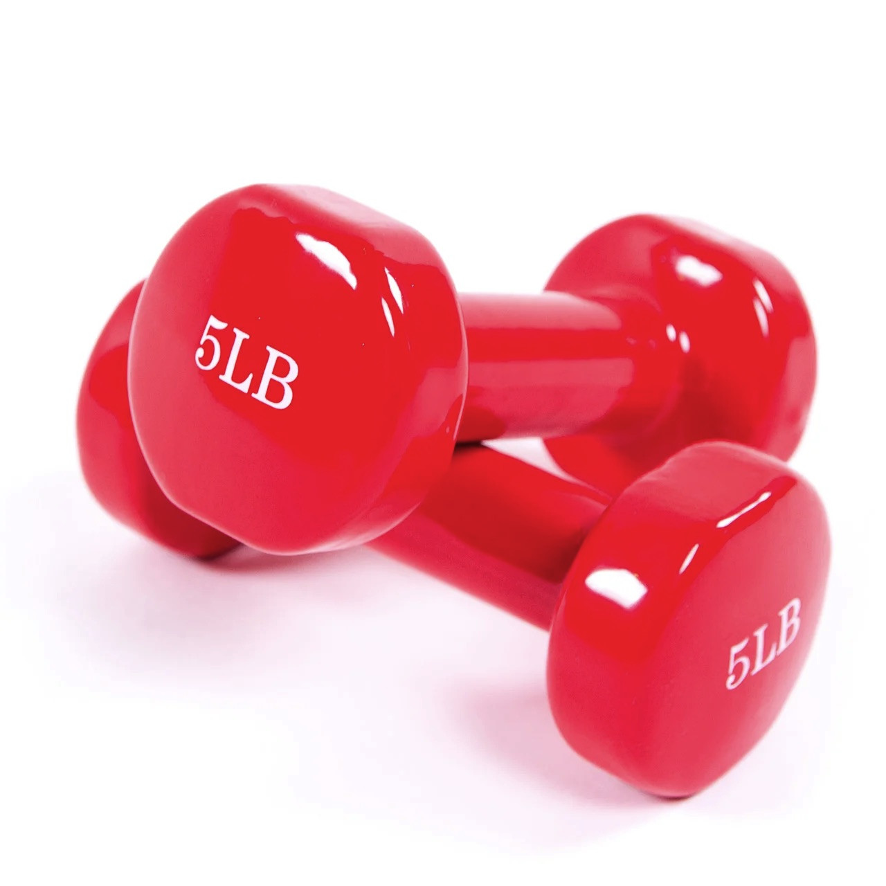 Гантели для фитнеса 2 шт 5Lb (2270гр.)