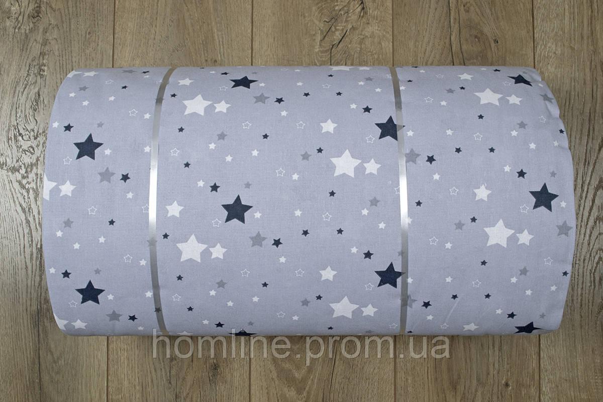 Ткань ранфорс Турция Galaxy серый 36241 (220 ширина)