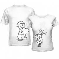 Парные футболки Ребята