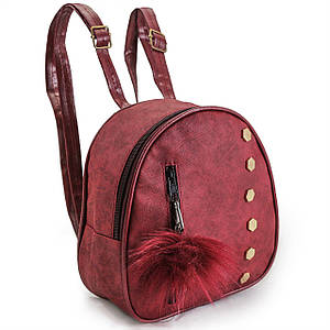 Рюкзак дитячий кожзам бордовий BR-S (1118269522)