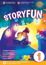 Storyfun Second Edition 1 (Starters) Student's Book with Online Activities and Home Fun Booklet / Учебник