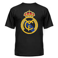 Футболка Реал Мадрид чорна