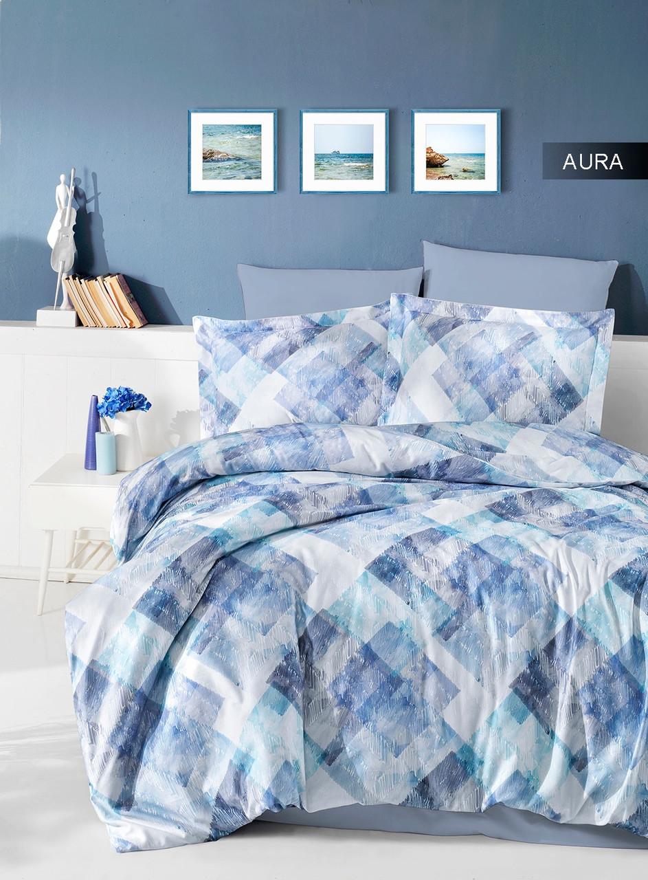 Комплект постельного белья Ecosse Сатин 200х220 Aura