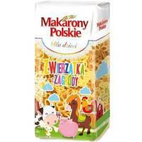 Макарон дитячий (в формі звіряток) Makarony Polskie, Zwierzatka z Zagrodi, 400 г