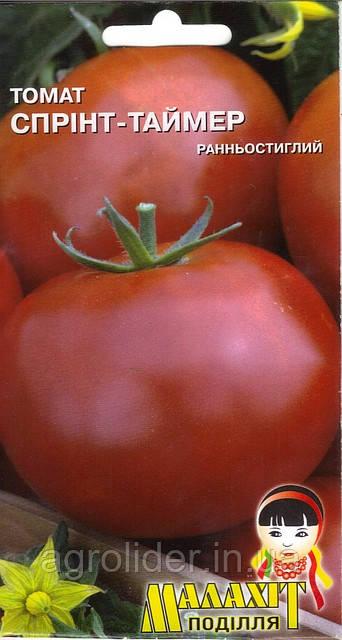 Семена томат Спринт-Таймер 0.1г Красный (Малахiт Подiлля)