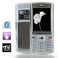 Donod D 805 + TV (Duos, 2 sim,сим) донод сенсорный экран + чехол в подарок!