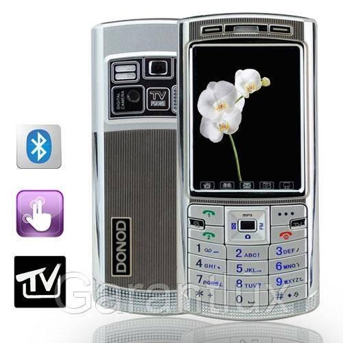 Donod D 805 + TV (Duos, 2 sim,сим) донод сенсорный экран + чехол в подарок! - Garantlux в Харькове
