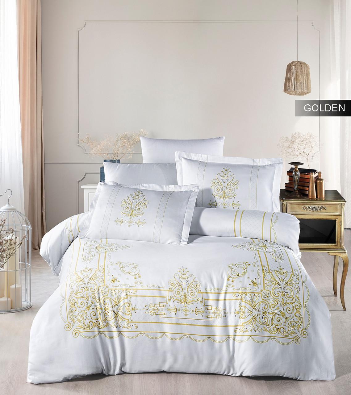 Комплект постельного белья Ecosse Сатин 200х220 Golden