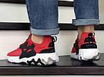 Мужские кроссовки Nike React Presto (красные), фото 4