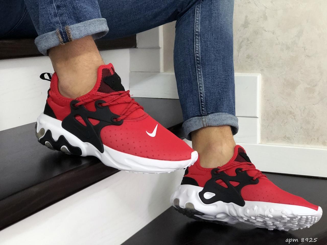 Мужские кроссовки Nike React Presto (красные)