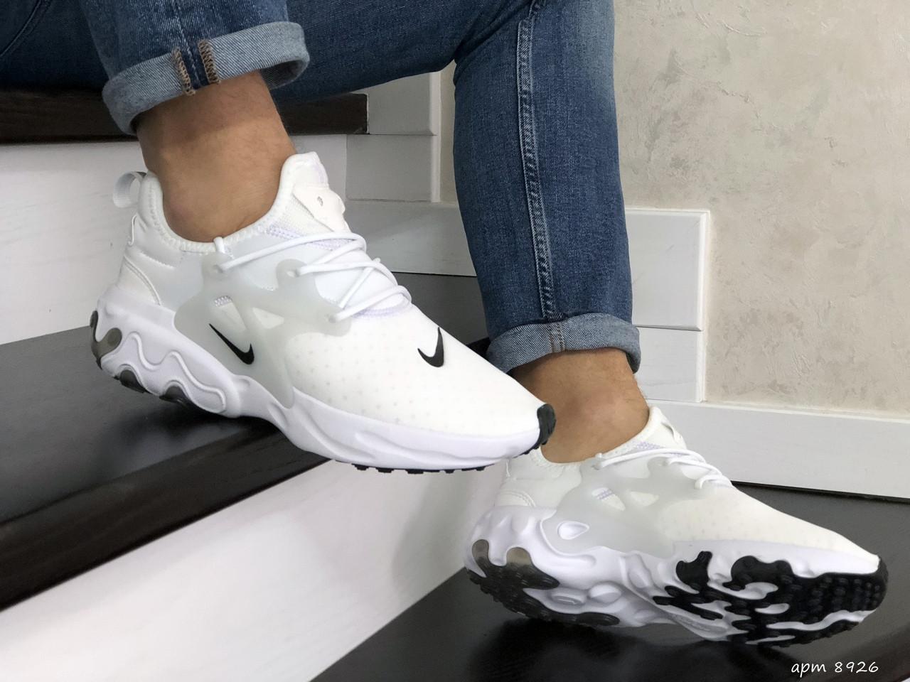 Мужские кроссовки Nike React Presto (белые)
