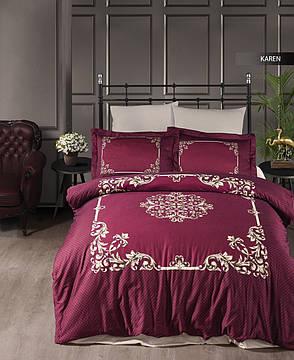 Комплект постельного белья Ecosse Сатин 200х220 Karen, фото 2