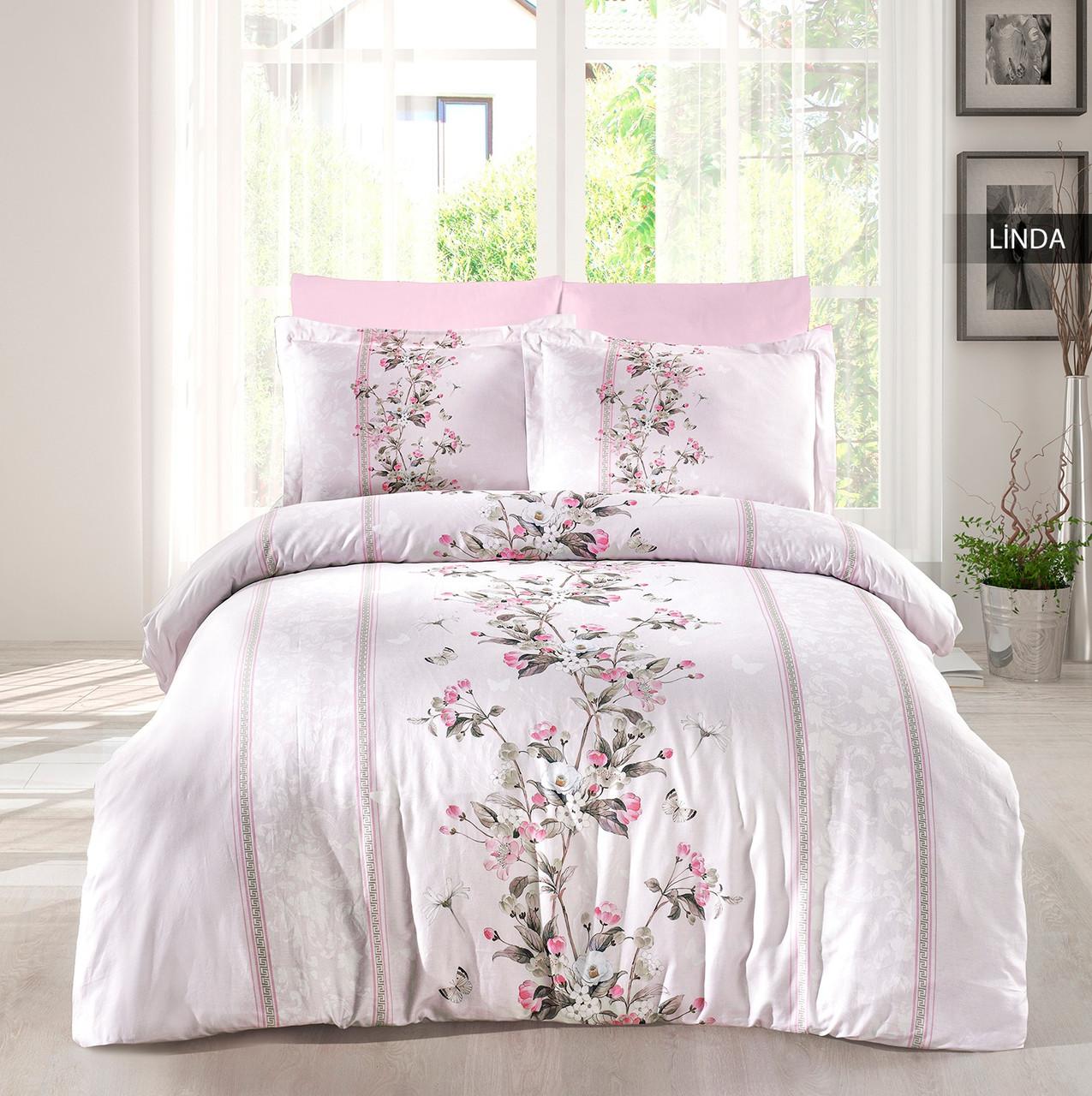 Комплект постельного белья Ecosse Сатин 200х220 Linda
