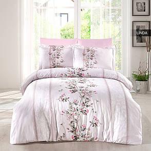 Комплект постельного белья Ecosse Сатин 200х220 Linda, фото 2