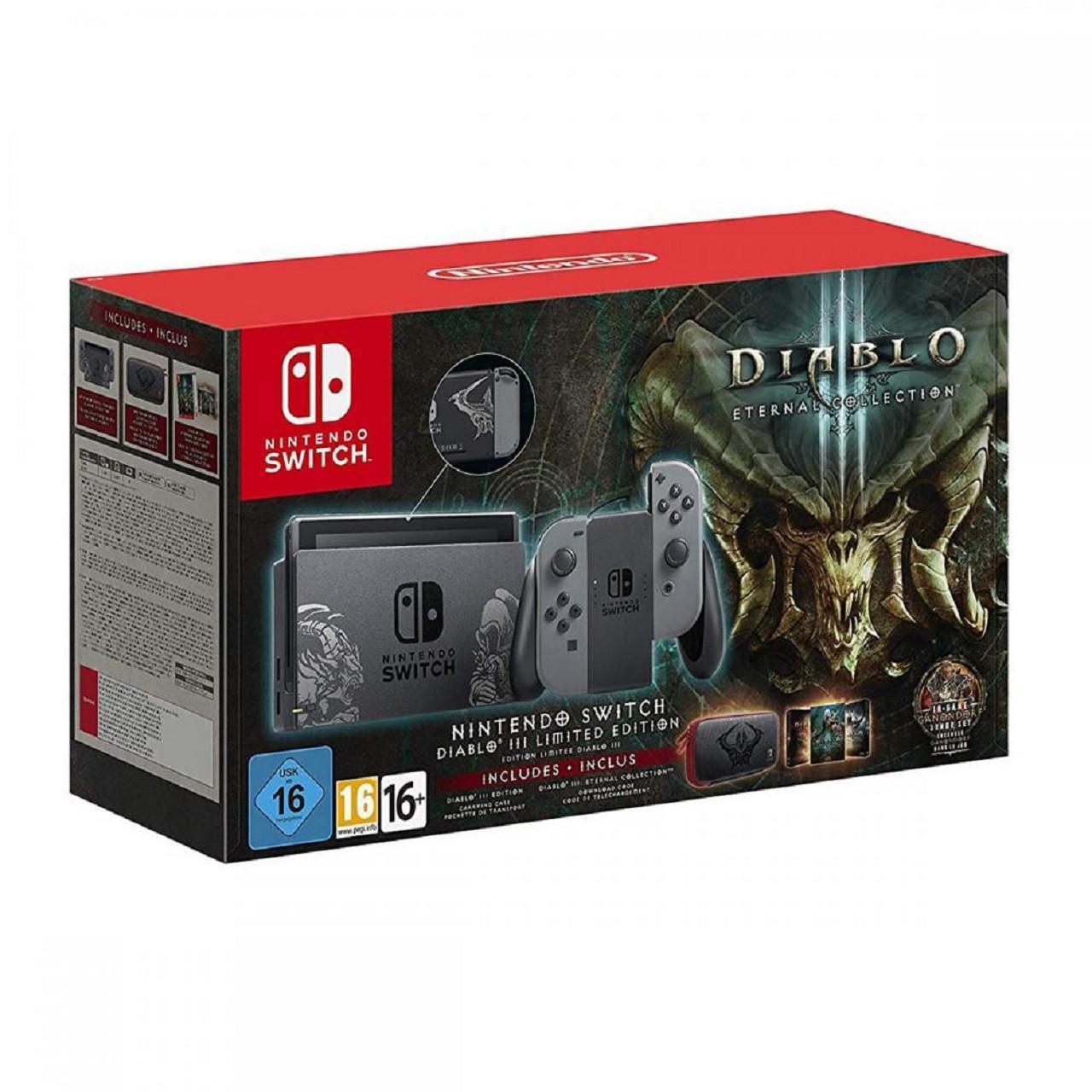 Ігрова консоль (приставка) Nintendo Switch Grey Diablo 3 Limited Edition
