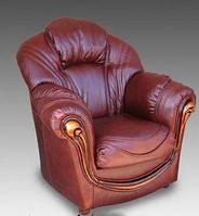 Кресло Мальта кожа Курьер