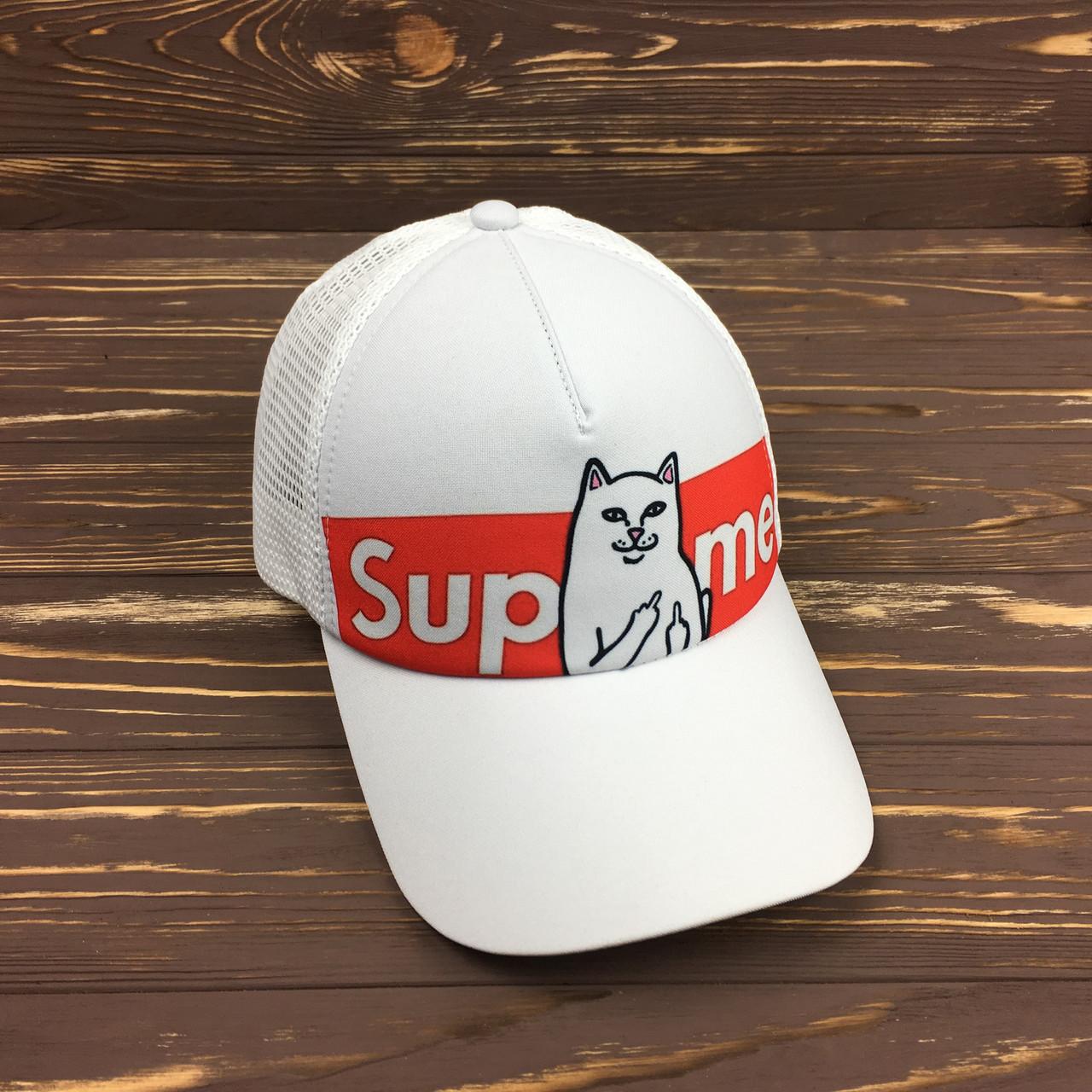 Кепка с сеткой - Supreme