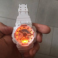 Часы наручные белые Casio