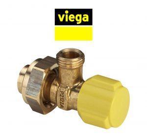 VIEGA 407575 Угловой кран для подводки воды к арматуре налива бачка инсталляции