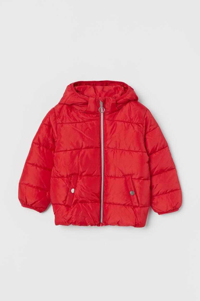 Куртка красная H&M р.134см (8-9лет)