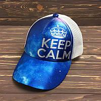 Кепка с сеткой - keep calm, фото 1
