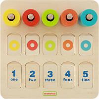 Игровой набор для изучения цветов и счета. Учебный планшет Masterkidz MK01757, фото 1
