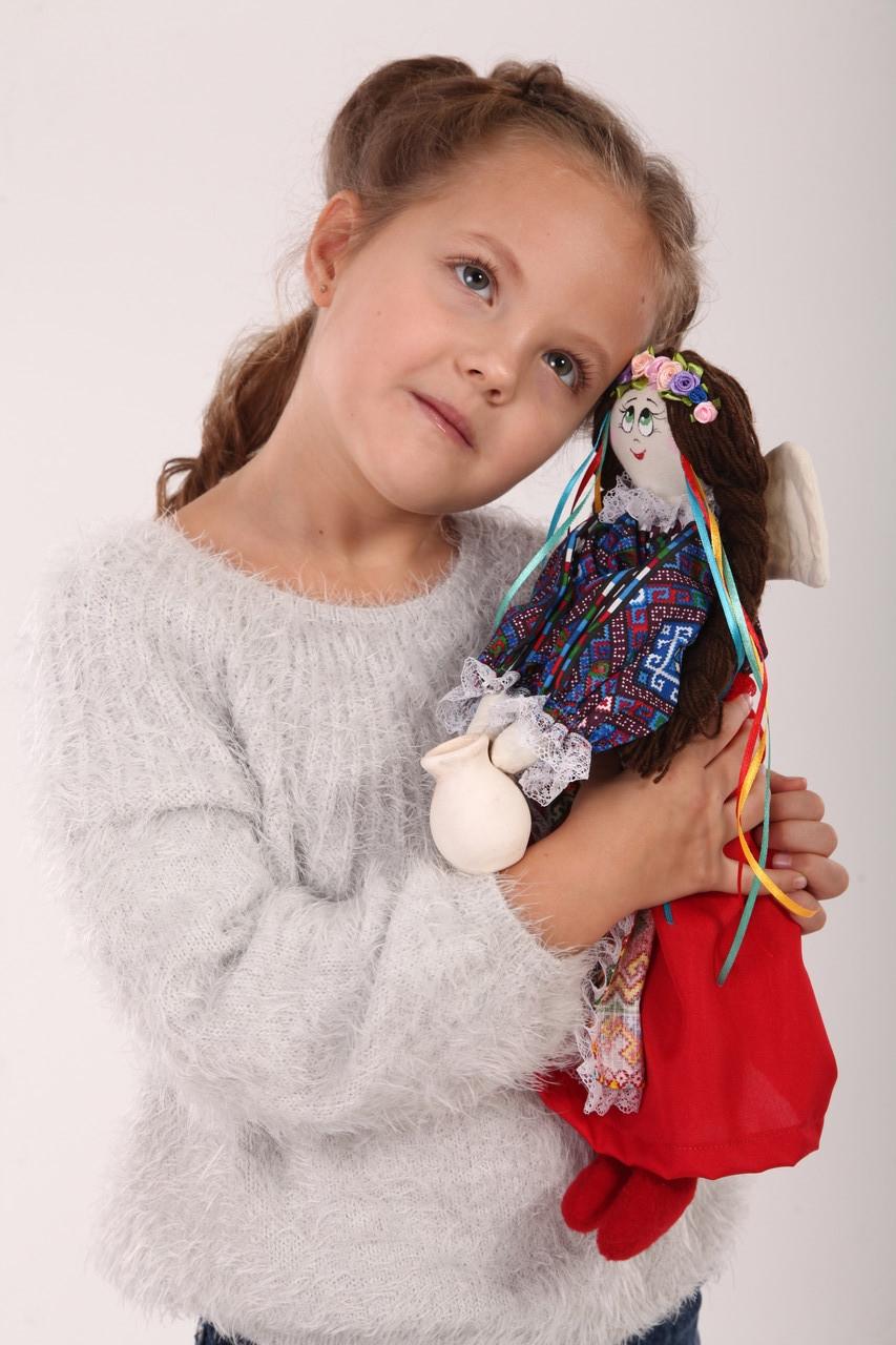 "Кукла  Ангел ""Украина"" ( тильда)"