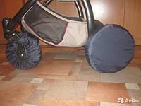 Чехлы для колес коляски, бахилы многоразовые для колес,чехлы для колес,поворотные колеса, черный