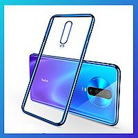 Xiaomi Redmi K30 защитный чехол Transparent\ захисний чохол