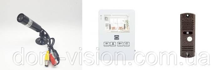 Видеодомофон Dom DS-4W+ панель вызова.+камера