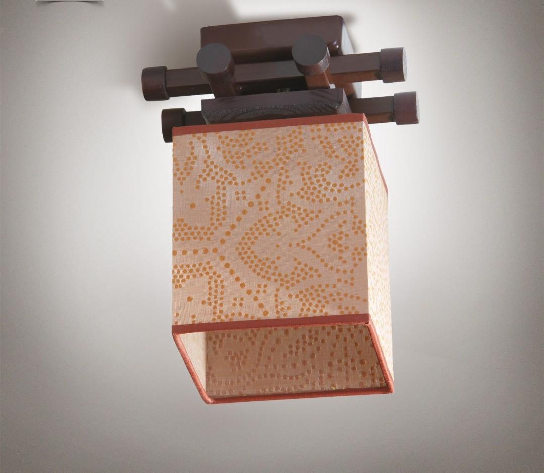 Люстра металлическая, с деревом, одинарная спальня, зал, кухня, гостиная 14910-2